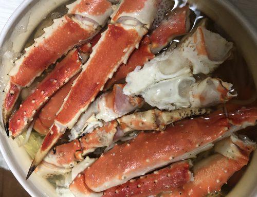 蟹鍋の季節